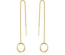Ohrhänger Swirl Threader Earrings 925er Silber