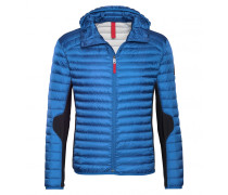 Mixed-Combo Daunenjacke HARVEY für Herren - Steel Blue / Black