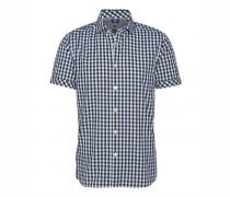 Kurzarm-Hemd MASON für Herren - Navy / White