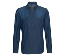 Jeanshemd TED für Herren - Dark Washed Denim