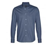 Hemd TOM für Herren - Dark Blue Melange