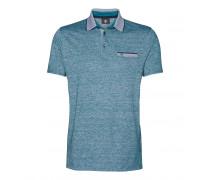 Poloshirt JAMES für Herren - Pacific Green Melange