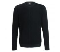 Schurwoll-Pullover RENO für Herren - Black