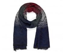 Schal NITIA für Damen - Navy / Multicolor