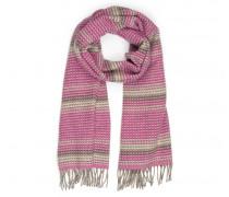 Schal CIMY für Damen - Hot Pink / Multicolor