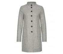 Mantel EMINA für Damen - Light Gray Melange