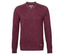 Pullover FABIAN für Herren - Berry / Taupe