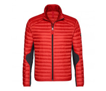 Lightweight-Daunenjacke ELIAS für Herren - Burned Red / Dark Stone