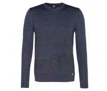 Pullover LAUREO für Herren - Dark Blue / Brown