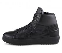 Leder-Boots Anchorage mit Spikes