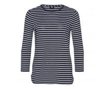 Shirt ANNALISA für Damen - Navy/White
