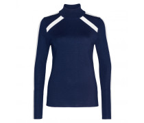 Pullover TALIA für Damen - Indigo / Off-White