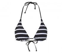 Bikini-Top Gaby - Schwarz/Weiß