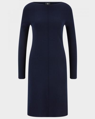 Strick-Kleid Hollie für Damen - Navy-Blau Kleid