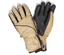 Ski-Handschuhe Helen für Damen - Champagne / Black