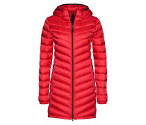 Lightweight Daunenmantel AIME für Damen - Fire Red