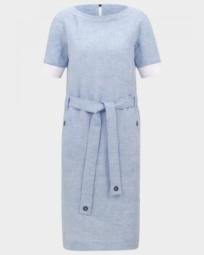 Kleid Amelia für Damen - Hellblau Kleid