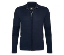 Strickjacke LENNY für Herren - Blue Black Melange