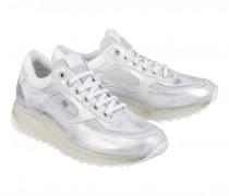 Sneaker NEW YORK LADY 10 für Damen - Silver