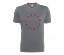 T-SHIRT ROC für Herren - Gray Melange / Red