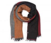 Schal EILA für Damen - Bordeaux / Multicolor