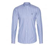 Hemd DENN für Herren - White/Blue