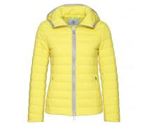 Mixed-Combo Jacke ELENA für Damen - Lime Yellow