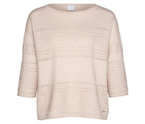 Woll-Kaschmir Pullover SYDNEY für Damen - Light Powder