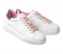 Sneaker HOLLYWOOD 1 für Damen - White/Rose