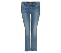 7/8 Jeans SO SLIM KICK FLARE für Damen - Mid Blue Washed
