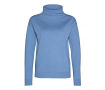 Schurwoll-Pullover ELIA für Damen - Ice Blue