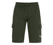 Sweatbermudas SAMMY für Herren - Dark Green