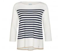 Schurwoll-Pullover JANIKA für Damen - White / Multicolor