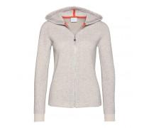 Strickhoody FELIPPA für Damen - Light Gray Melange / Mauvelous