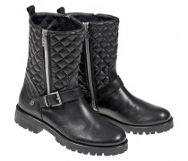 BIKER-BOOTS NEW MERIBEL für Damen - Black