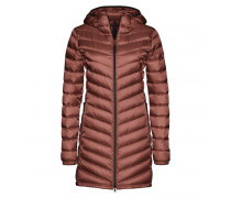 Lightweight Daunenmantel AIME für Damen - Copper Red