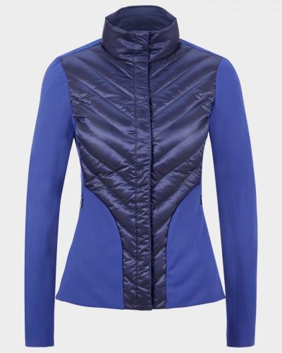 Taillierte Hybrid-Jacke Frida für Damen - Atlantik-Blau Jacke