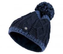 Strickmütze VERAS für Damen - Navy / Smokey Blue