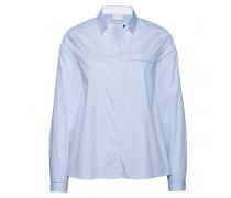 Bluse MABELLE für Damen - Light Blue / White