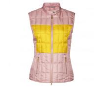 GOLF-WESTE KEELY-D für Damen - Pale Rose/Light Yellow