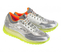 Sneakers NEW YORK LADY für Damen - Metallic Silver / Multicolor