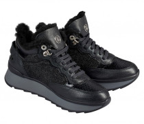 High-Top-Sneaker SAAS FEE 1E für Damen - Black