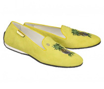 Loafer PORTOFINO 1A für Damen - Lemon / Multicolor
