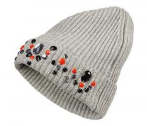Strickmütze NURI für Damen - Gray Mélange