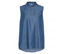 Jeansbluse PAT für Damen - Blue