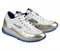 Sneaker NEW YORK L9B für Damen - Silver / Platinum