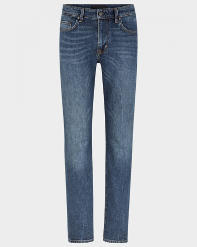 Regular Fit Jeans Rob für Herren - Blue Stone Washed Regular Fit Jeans