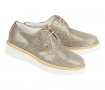 Derby-Sneakers OSLO 14A für Damen - Platinum