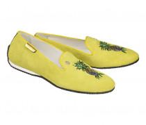 Loafer PORTOFINO 1A für Damen - Lemon / Multicolor