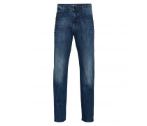 Jeans IDAHO für Herren - Washed Dark Blue Denim
